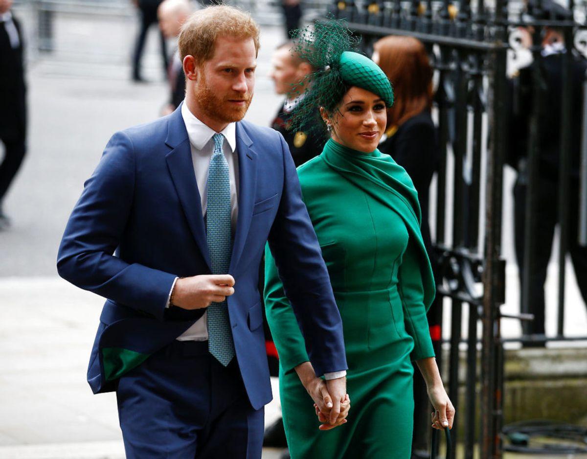 Hertugparret havde deres sidste officielle optræden som royale den 9. marts som gæster ved den årlige  Commonwealth gudstjeneste i Westminster Abbey i London. Klikv idere for flere billeder. Foto: Scanpix/REUTERS/Henry Nicholls