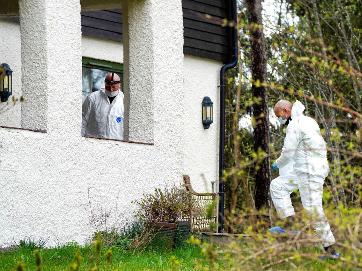 Papirerne skulle være fundet under ransagningen af Tom Hagens hus. Foto: Heiko Junge/NTB Scanpix via REUTERS