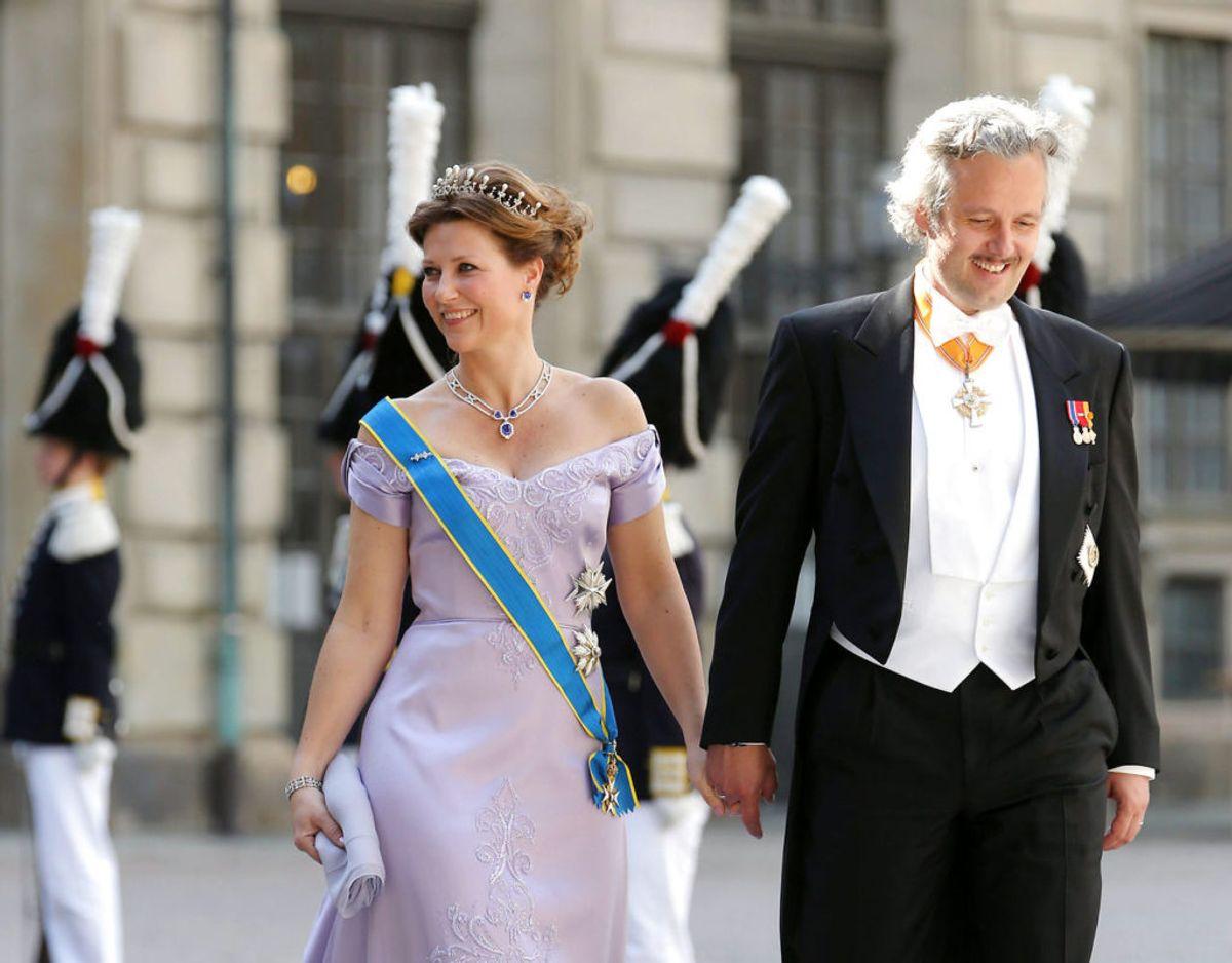 Prinsesse Märtha Louise var gift med Ari Behn fra 2002 til 2017. Sammen fik de tre døtre. Foto: REUTERS/Soren Andersson/Scanpix