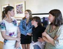 Stærk oplevelse for prinsesse Märtha Louise og døtrene