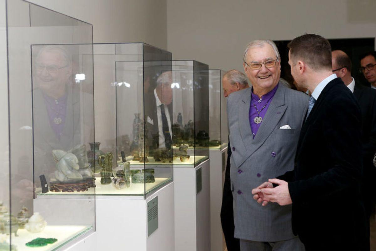 Prins Henrik har tidligere vist dele af sin private jade-samling på Koldinghus. KLIK VIDERE FOR FLERE BILLEDER. Foto: Scanpix