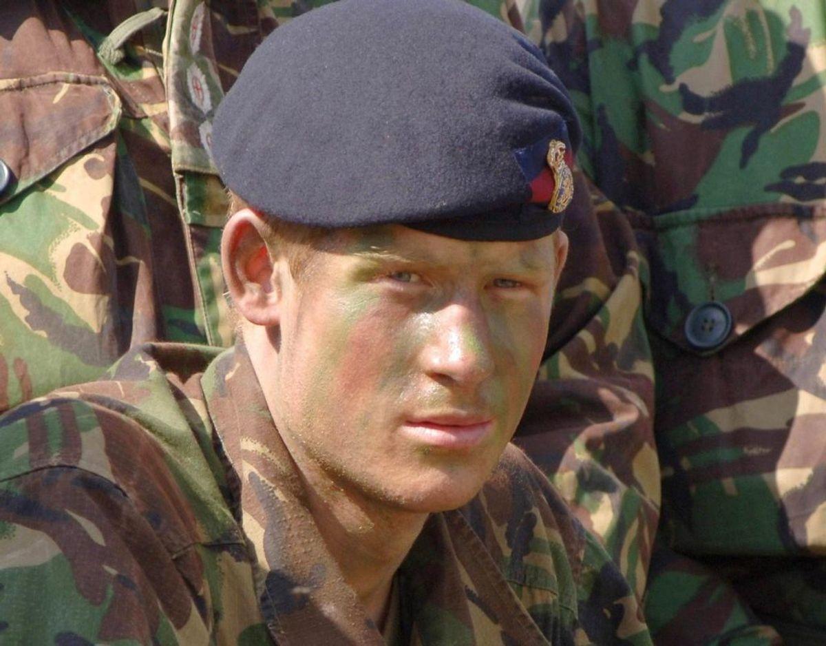 Prins Harry startede i den britiske hær i 2005. Klik videre for flere billeder. Foto: Scanpix/REUTERS/Corporal Ian Holding/RLC/MoD/Files/Handout