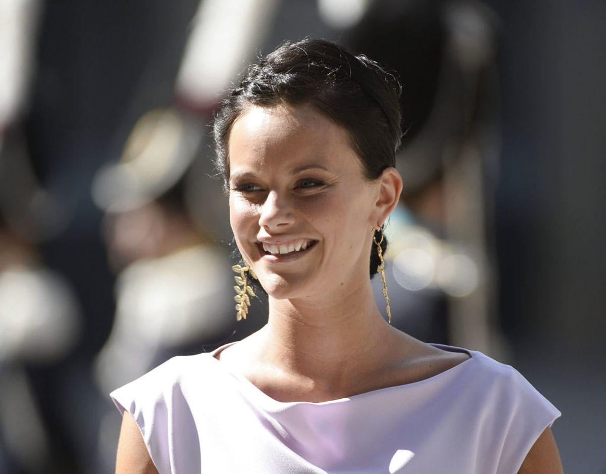 Prinsesse Sofia gennemgik i april en intensiv sundhedsuddannelse for at kunne hjælpe til under coronakrisen. Klik videre for flere billeder. Foto: REUTERS/Maja Suslin/Scanpix