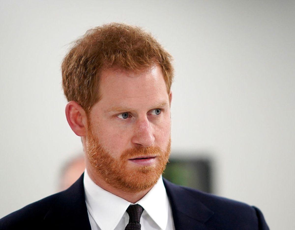 Inden Harry blev til en Sussex blev kan kaldt Harry Wales efter sin far, prinsen af Wales. Foto: Scanpix/Christopher Furlong/Pool via REUTERS/File Photo