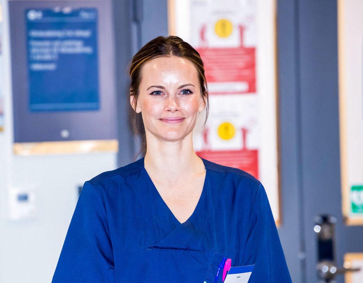 Prinsesse Sofia er trukket i arbejdstøjet. Hun skal den kommende tid arbejde på et privathospital i Stockholm. KLIK VIDERE OG SE FLERE BILLEDER Foto: Spa/Danapress/Ritzau Scanpix