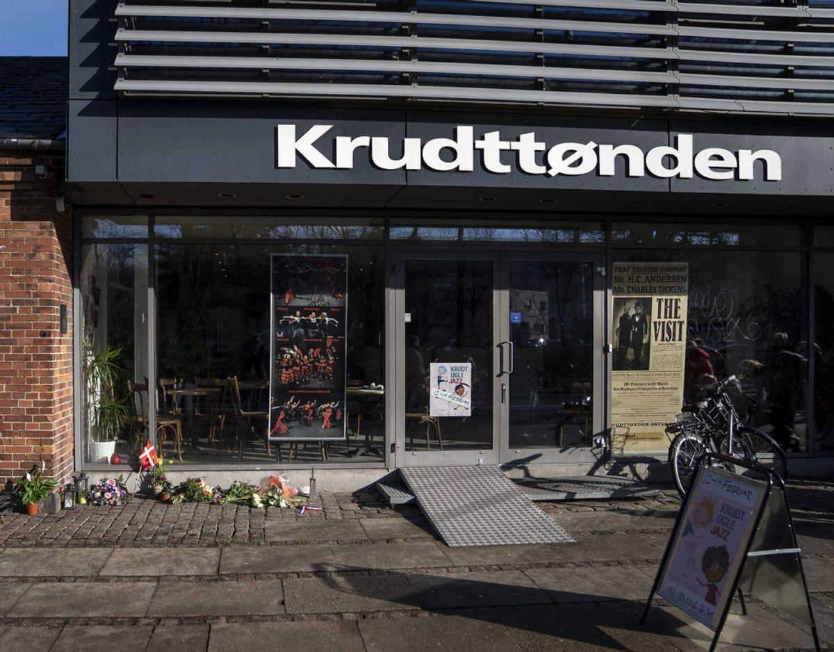Krudttønden danner rammen om det seneste danske terror-anslag. Foto: Scanpix