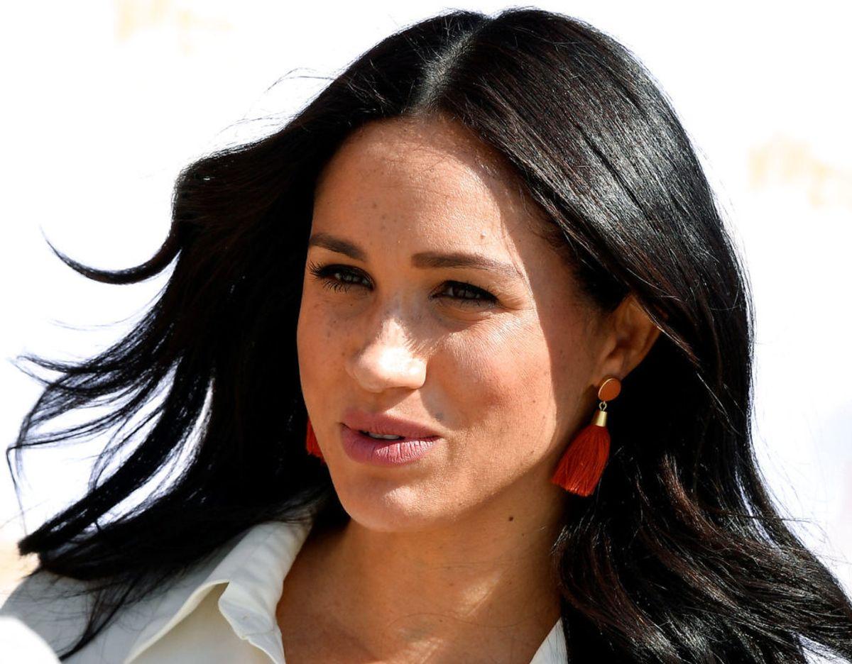 Når Meghan fratræder som royal med udgangen af marts måned, kan hun får problemer med sit efternavn. Klik videre for flere billeder. Foto: Scanpix/REUTERS/Toby Melville
