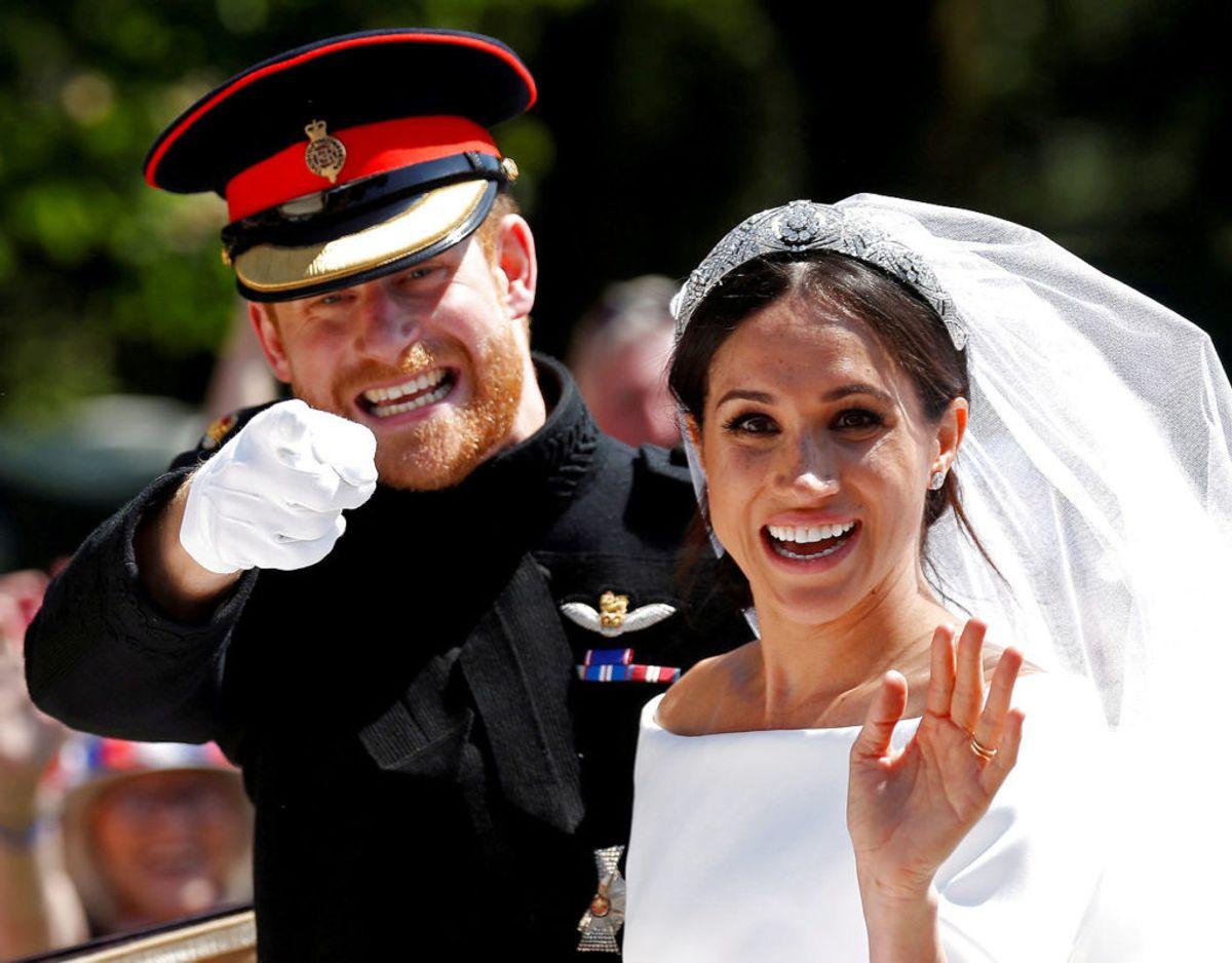 Meghan fik faktisk efternavnet Sussex, da hun blev gift med Harry den 19. maj 2018. Klik videre for flere billeder. Foto: Scanpix/Damir Sagolj/Ritzau Scanpix)