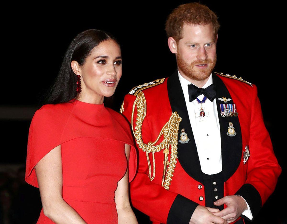 Harry og Meghan deltog i en af de sidste royale pligter, parret har, da de var med til Mountbatten Music Festival. KLIK VIDERE OG SE FLERE BILLEDER. Foto: REUTERS/Simon Dawson/Pool