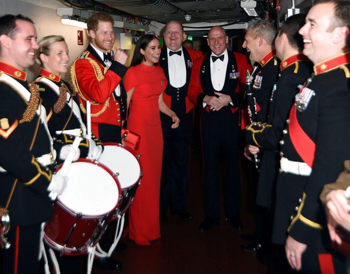 Mountbatten Music Festival var en af Harry og Meghans sidste royale opgaver. Foto: Eddie MULHOLLAND / POOL / AFP