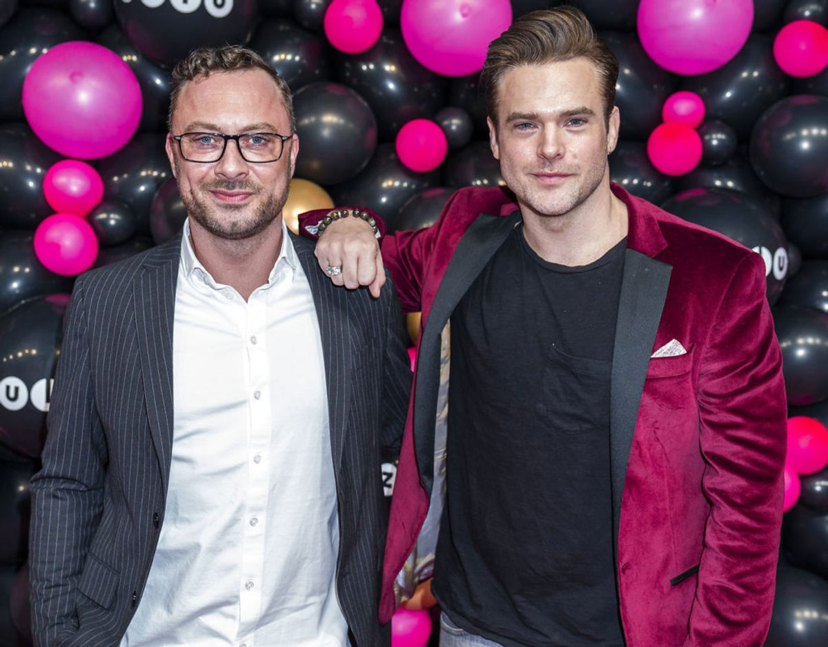 Årets Par: Jakob Fauerby og Silas Holst Foto: Martin Sylvest/Ritzau Scanpix 2020
