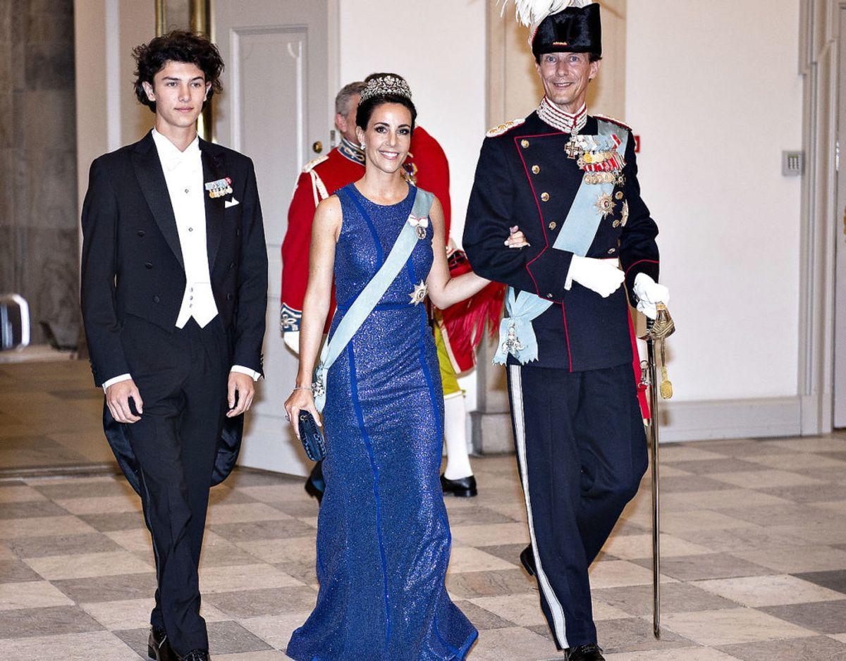 Prins Nikolai bor for i Danmark, mens prins Joachim og prinsesse Marie bor i Paris. Herhjemme studerer prinsen på CBS. Foto: Henning Bagger/Ritzau Scanpix