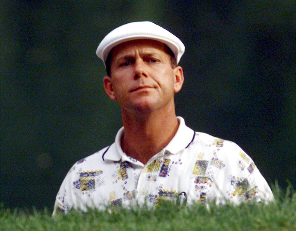 25. oktober 1999: Den amerikanske golfspiller og tredobbelte majorvinder Payne Stewart er involveret i et flystyrt i den amerikanske delstat South Dakota. Stewart og fire andre dør i styrtet. Foto: Scanpix