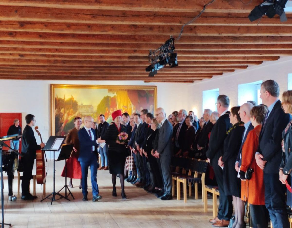 Prinsesse Benedikte åbnede fredag den 17. januar udstillingen 100 år med Danmark – Sønderjylland siden genforeningen. KLIK VIDERE OG SE FLERE BILLEDER. Foto: Museum Sønderjylland