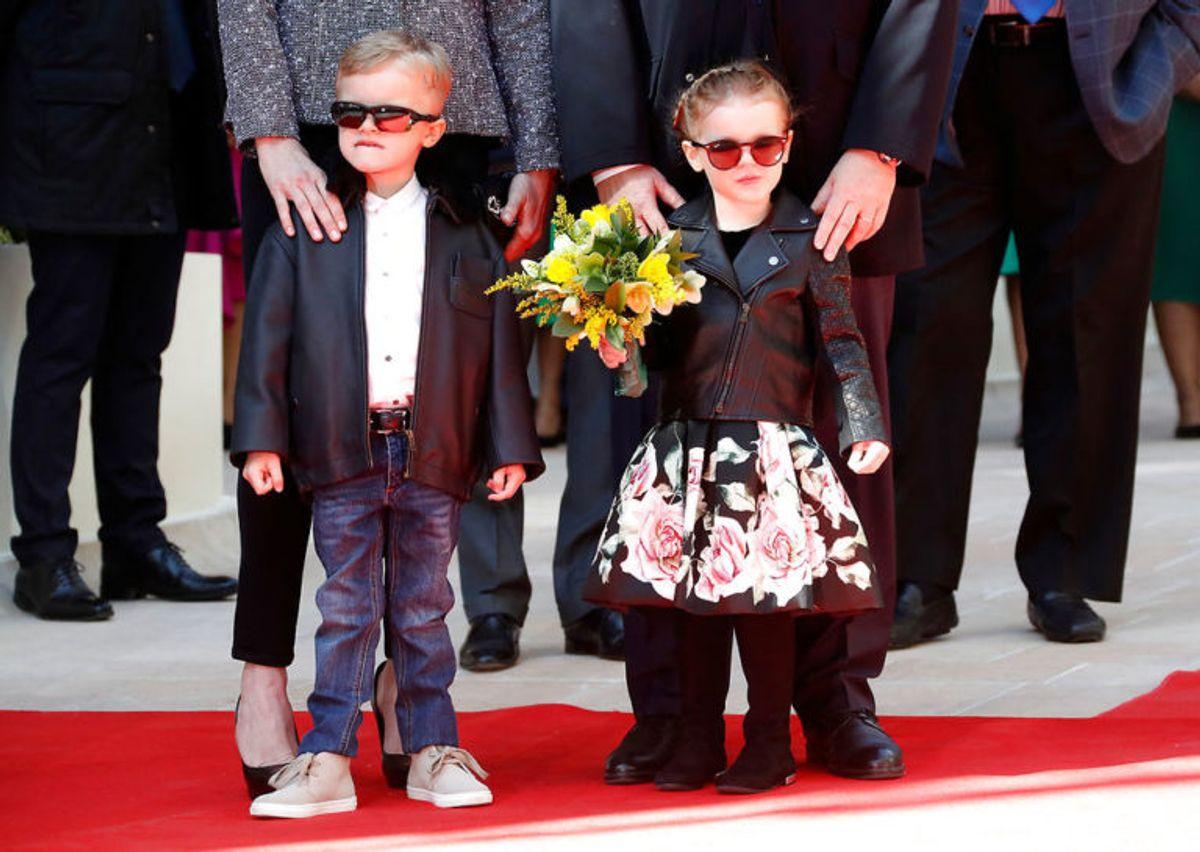 Kronprins Jacques af Monaco er i dag fire år gammel. Han skal arve tronen fra sin far, fyrst Albert af Monaco. (Foto: Scanpix)