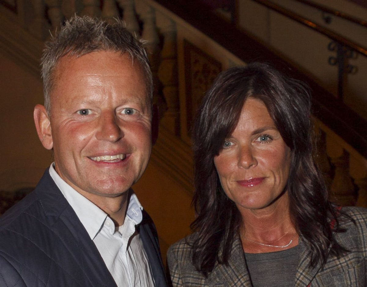Bubber er gået fra sin kone gennem 28 år, Christina 'Ibsen' Meyer. Arkivfoto: Scanpix.