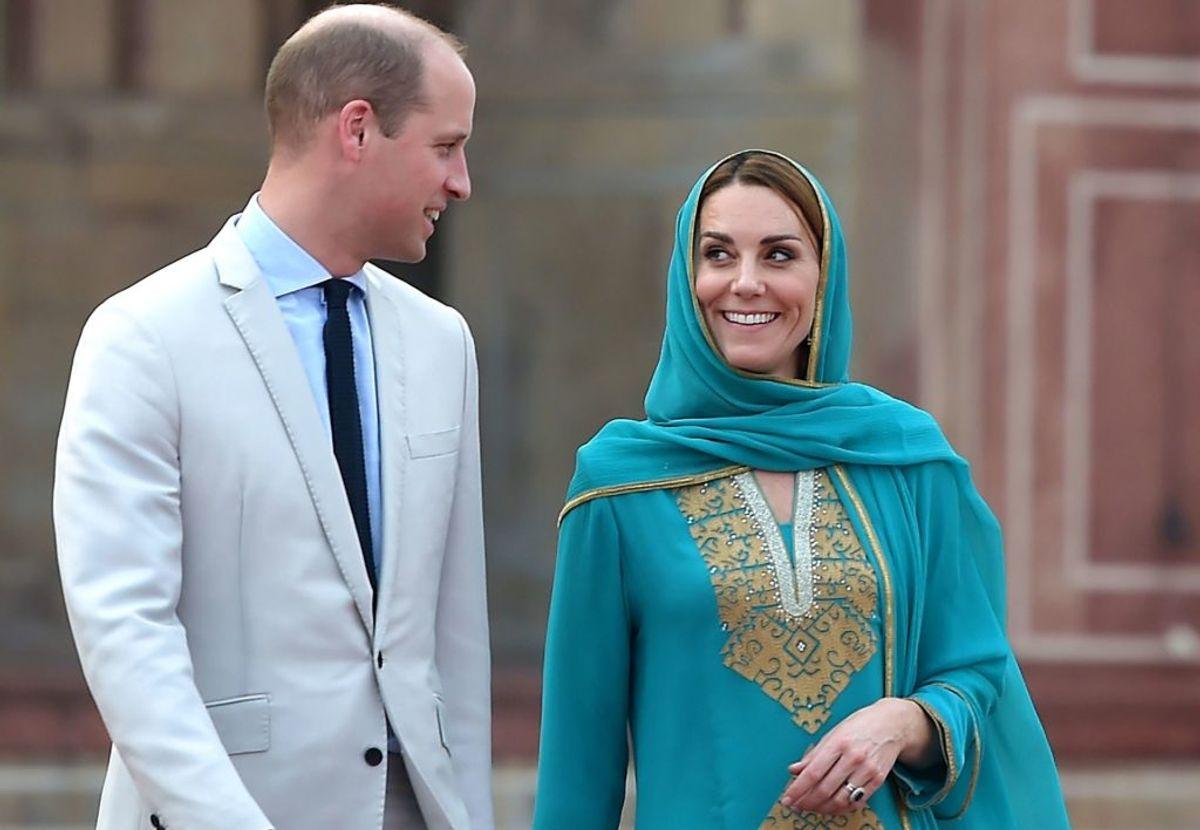 Prins William og frue Kate er på officielt besøg i Pakistan. Foto: AAMIR QURESHI/Scanpix.