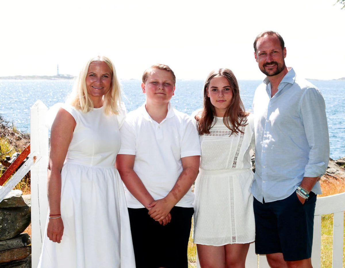 Prinsesse Ingrid Alexandra er det ældste barn, som kronprins Haakon og kronprinsesse Mette-Maritt har sammen. Derudover har de prins Sverre-Magnus. Foto: Scanpix