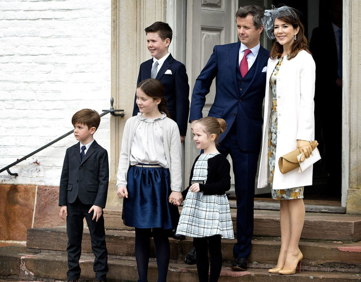 Sidst kronprinsfamilien var til konfirmation var hos prins Felix. Ved prinsesse Ingrid Alexandras konfirmation deltager kronprins Frederik, kronprinsesse Mary og prins Christian. Foto: Scanpix