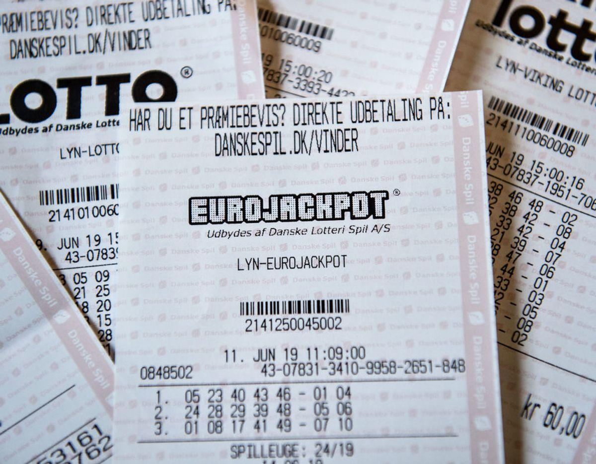 Der var både danske vindere på Eurojackpot og i lørdagens Lotto. Otte danskere er blevet millionærer efter weekenden. Klik videre for flere billeder. Foto: Scanpix