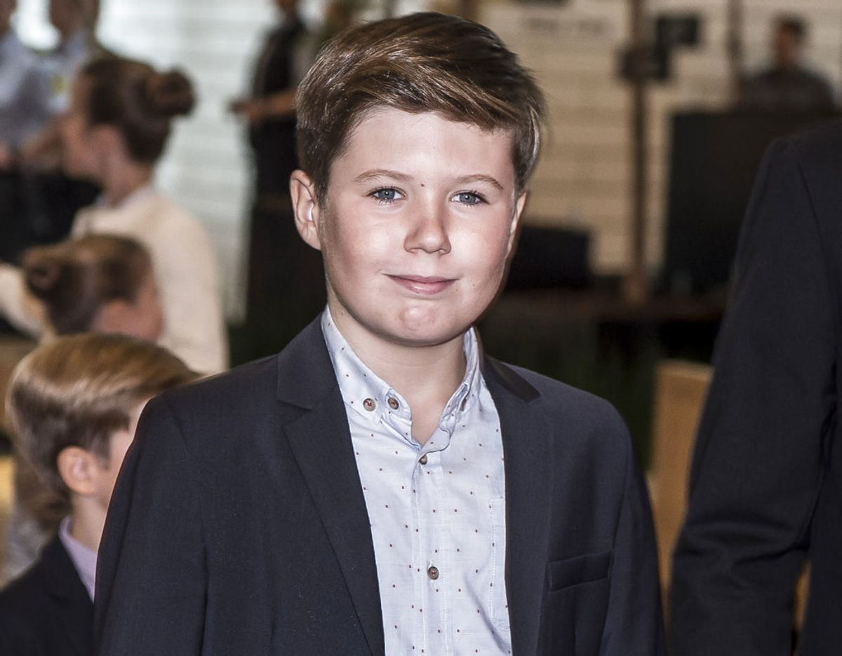 Prins Christian skal til konfirmationsfest i Norge, når prinsesse Ingrid Alexandra skal konfirmeres. Klik videre og se flere billeder. Foto: Scanpix