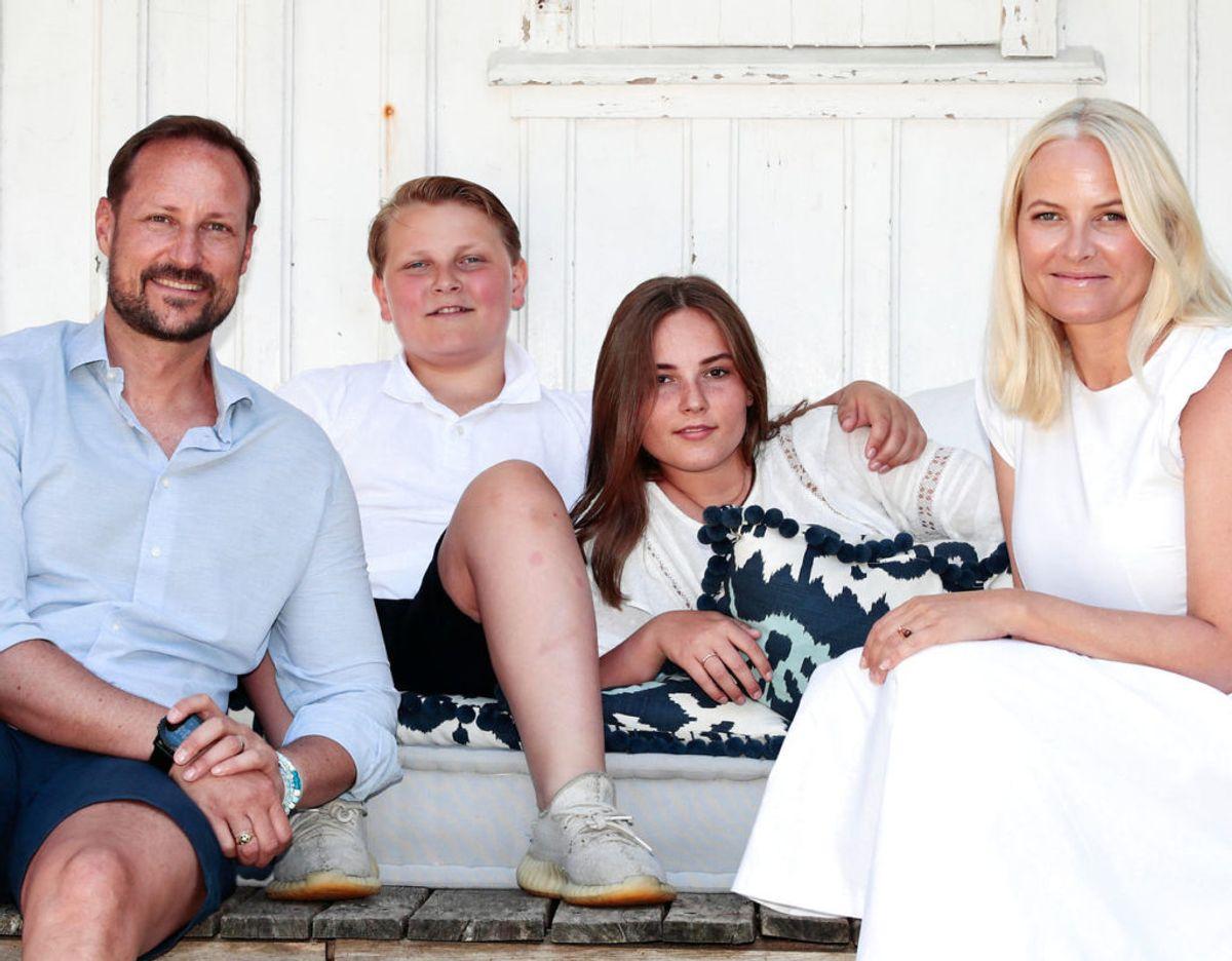 Prinsesse Ingrid Alexandra skal konfirmeres i Slotskapellet på det kongelige slot i Oslo. Hun er kronprins Haakon og kronprinsesse Mette-Marits ældste barn. De har også sønnen prins Sverre Magnus. Foto: Scanpix