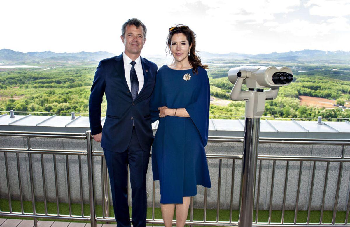 Kronprinsparret får fint besøg fra Sverige til september. Foto: Scanpix.