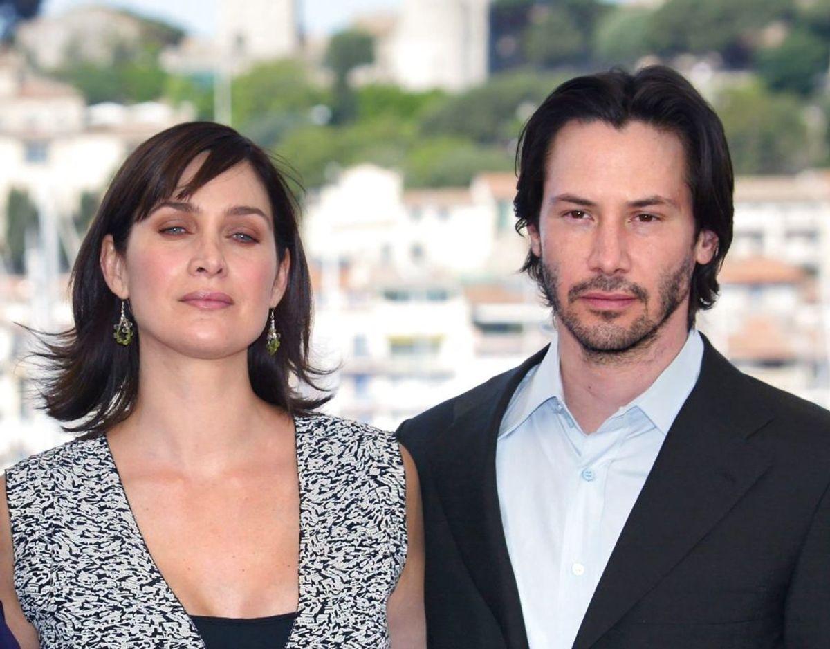 Keanu Reeves og Carrie-Anne Moss er angiveligt klar på mere The Matrix. Foto: Scanpix.