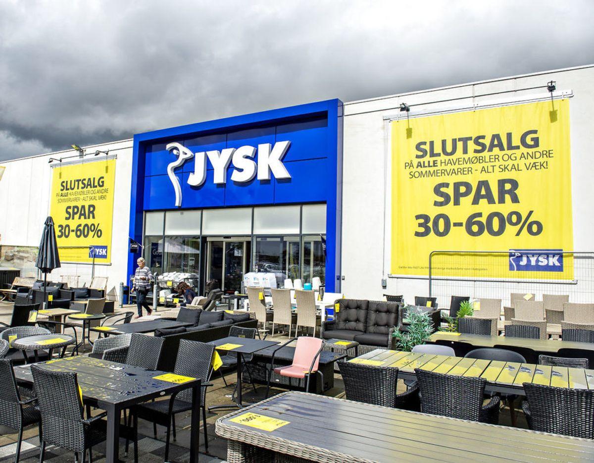 Det er naturligvis JYSK-butikkerne, som Lars Larsen er bedst kendt for. Foto: Scanpix