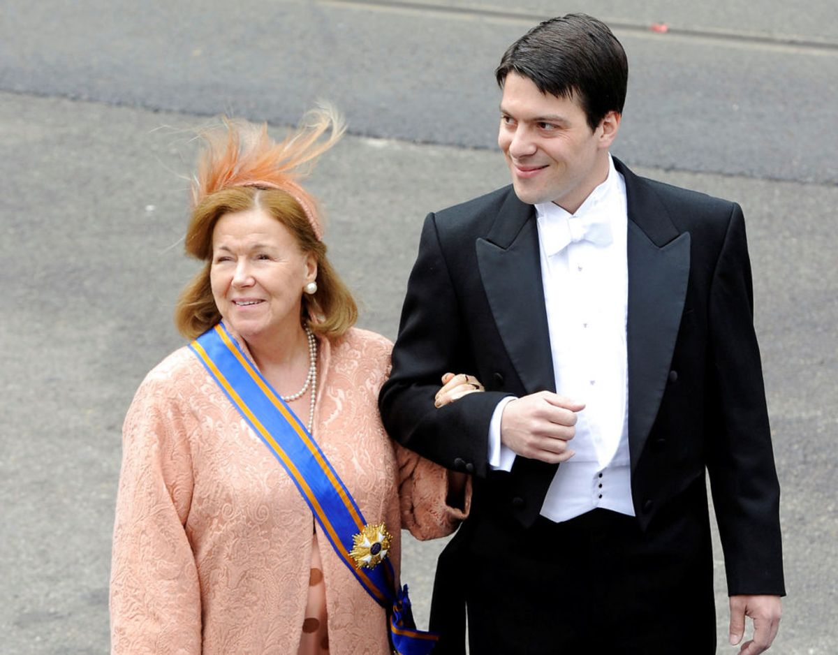Prinsesse Christina ses her sammen med sønnen Bernardo.  Klik videre for flere billeder. Foto: Scanpix/REUTERS/Paul Vreeker/File Photo