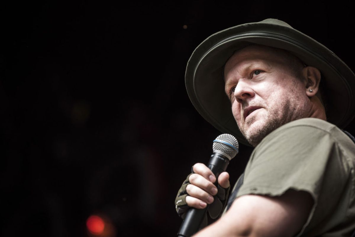 "Anders Matthesen er nomineret for sit jubilæumsshow, ""Anden 25"" Foto: Helle Arensbak/Ritzau Scanpix."