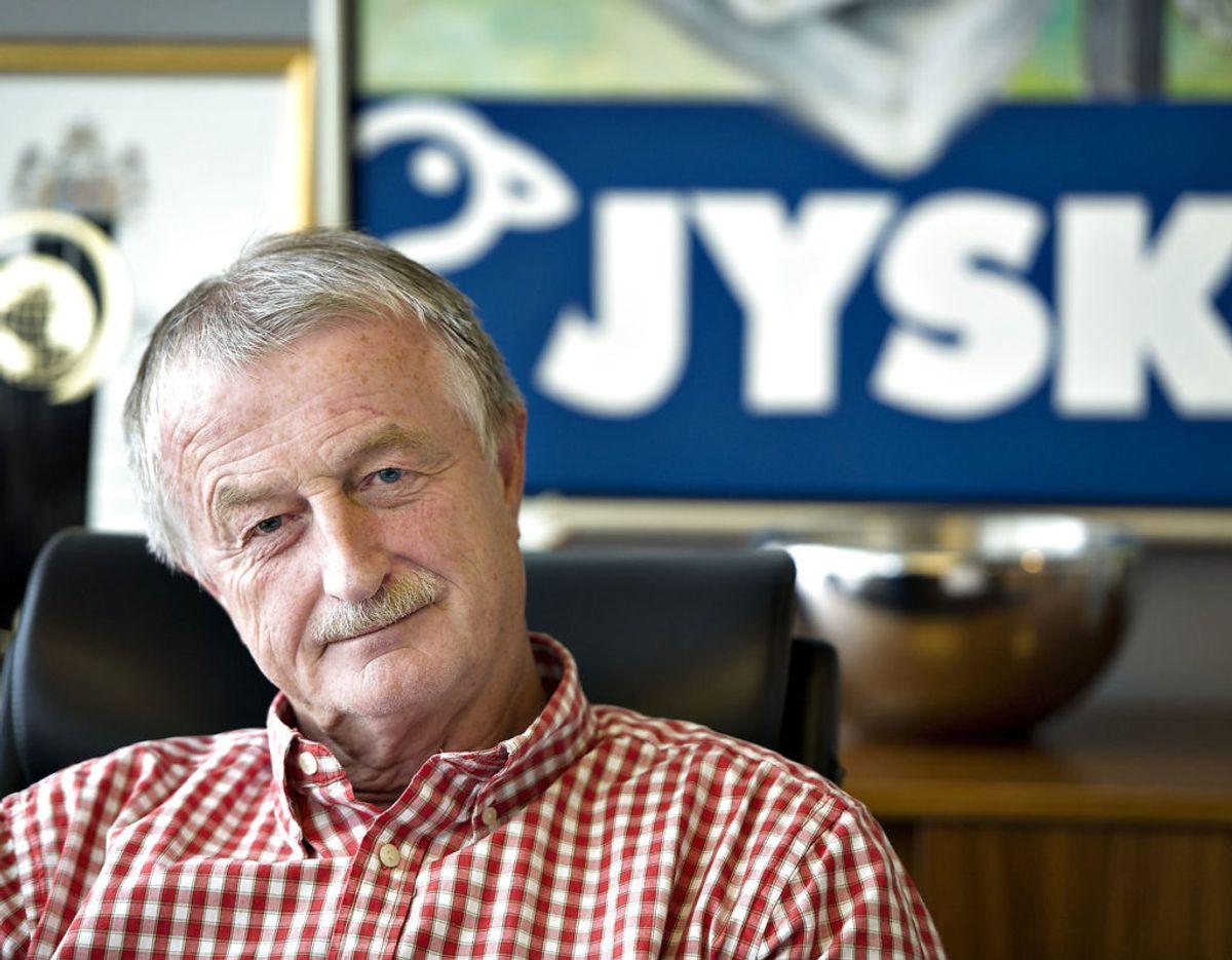 Lars Larsens imperium rækker ud over butikskæden JYSK, som han i 1979 grundlagde. Klik videre og læs, hvilke virksomheder, Lars Larsen Group også ejer. Foto: Scanpix