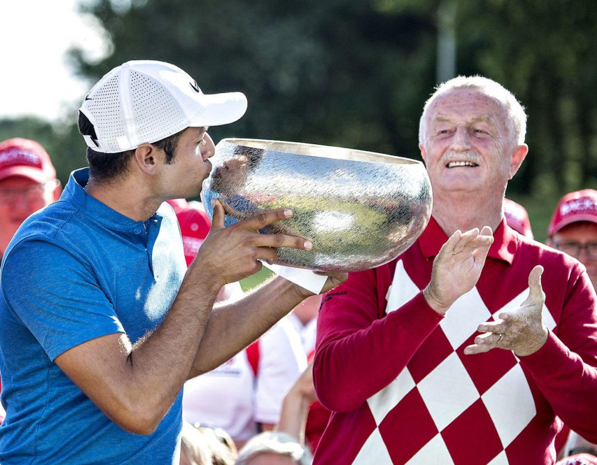 Desuden ejer Lars Larsen Group Himmerland Spa & Golf, hvor der blandt andet bliver afholdt golfturneringen Made in Denmark. Foto: Scanpix