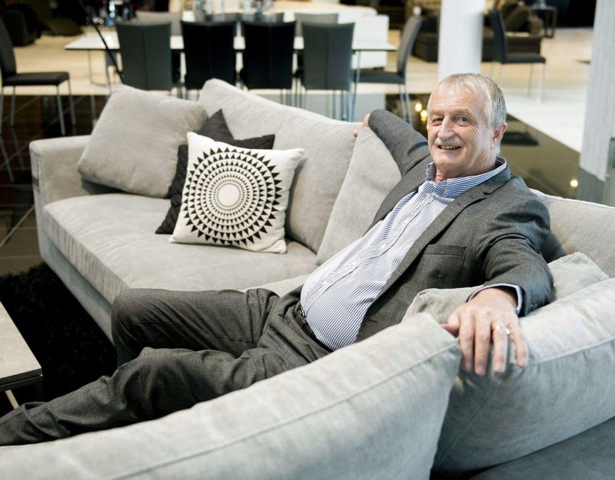 Desuden ejer han Actona Company, der laver moderne møbler, ScanCom, der laver udendørsmøbler, og Schou, der laver tilbehør til køkken og have. Foto: Scanpix