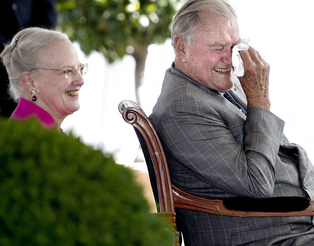 Reception på Chateau de Cays i anledning af H.K.H. Prinsgemalens 80-års fødselsdag i 2014. Foto: Scanpix