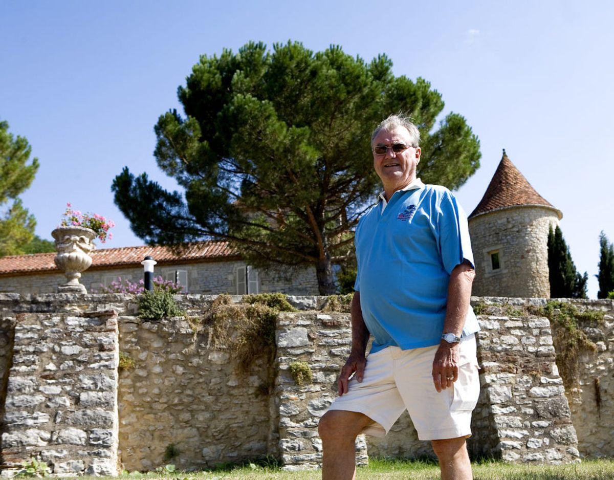 Slottet kan i år fejre 45 år som ejet af regenten. Foto: Scanpix