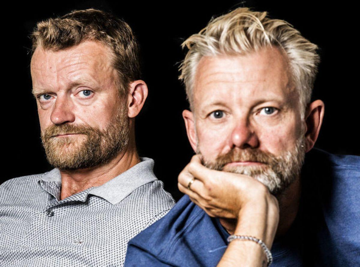 Casper Christensen og Frank Hvam har gennem årene underholdt med Klovn. Nu slutter det snart. KLIK VIDERE OG SE DERES IMPONERENDE TID MED KLOVN. Foto: Scanpix