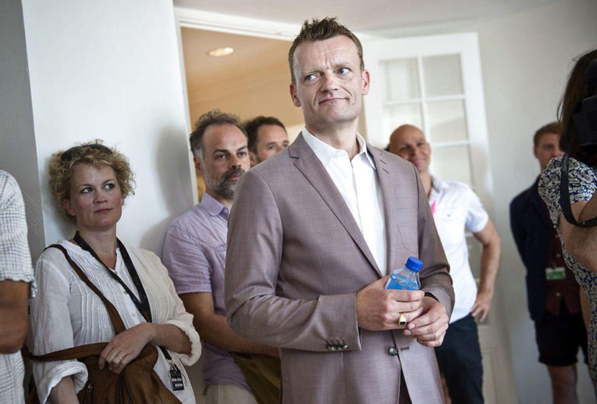 Klovn Forever med Casper Christensen, Frank Hvam og instruktør Mikkel Nørgaard holder pressemøde i Nordisk Films lejlighed i Cannes i anledning af Cannes Film Festival lørdag den 16. maj 2015.