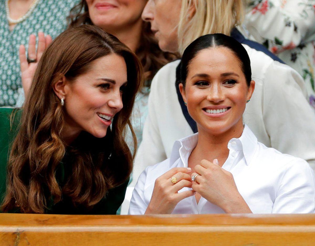 Da de to svigerinder var til Wimbledon sammen den 13. juli, var der bestemt intet, der tydede på, at de skulle have problemer med hinanden. Klik videre i galleriet for flere billeder. Foto: Scanpix/Ben Curtis/Pool via REUTERS