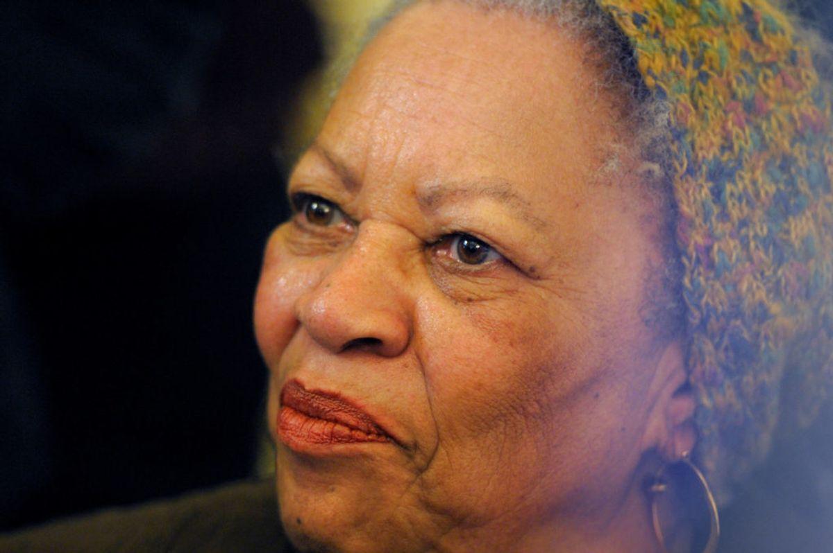 Forfatteren Toni Morrison er død, 88 år gammel. (Foto: Philippe Wojazer/Ritzau Scanpix)