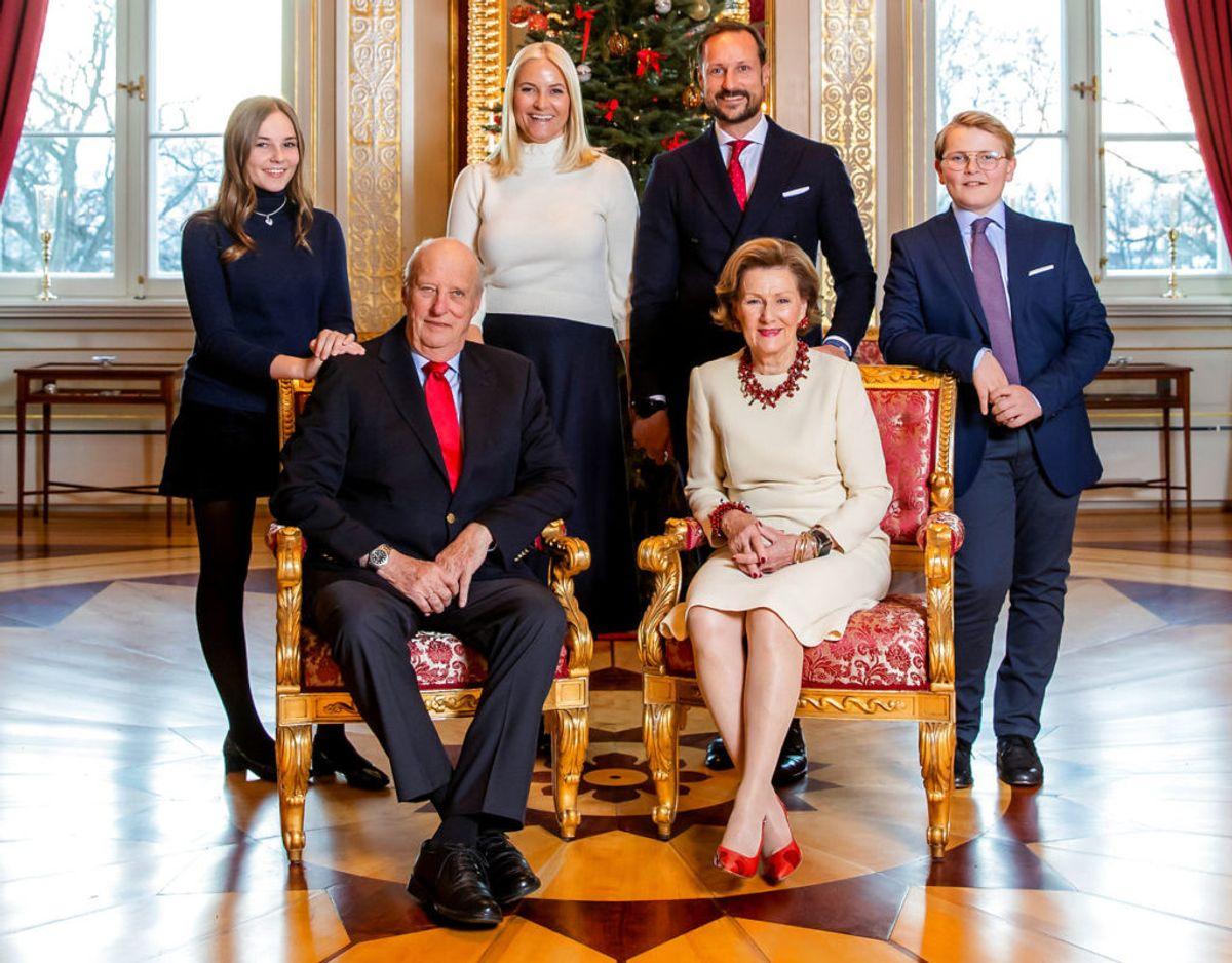 Kongen har det fint med at sidde, hvor han sidder. 21. februar fyldte han 82 år. Foto:  NTB Scanpix/Haakon Mosvold Larsen.