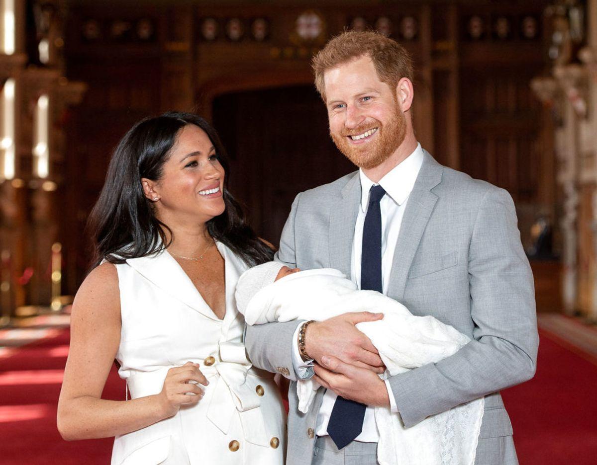 Meghan er meget bevidst om, at hun i Harry og lille Archie har en stærk familie omkring sig. Klik videre i galleriet for flere billeder. Foto: Scanpix/Dominic Lipinski/Pool via REUTERS/File Photo
