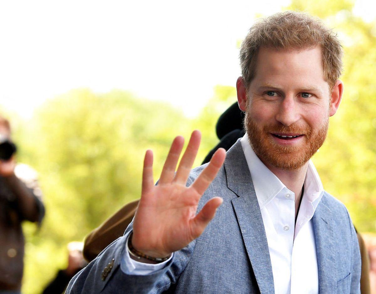 Prins Harry deler sine private tanker om, hvordan han på mange måder skal være en rollemodel for sin søn Archie. Klik videre for flere billeder. Foto: Scanpix