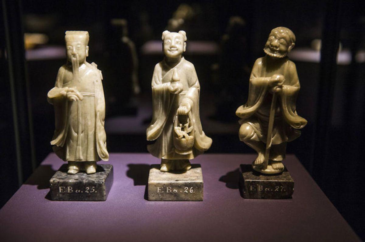Her Dao's udødlige – som er afguder. Blev også vist på udstillingen. Foto: Scanpix