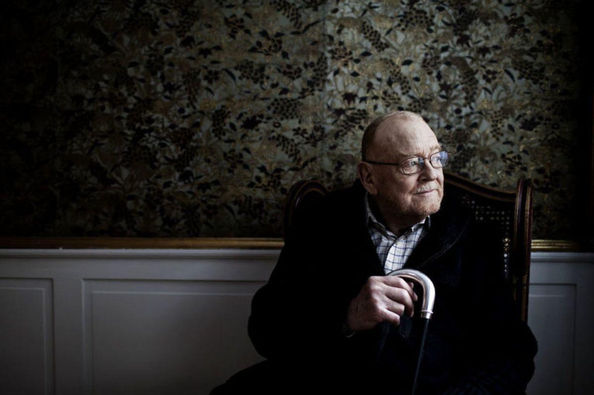 (Arkiv) Jesper Langberg den 17. januar 2013. Skuespiller Jesper Langberg er død 78 år gammel lørdag den 29. juni 2019. Det skriver Ritzau, lørdag den 29. juni 2019.. (Foto: Jeppe Bjoern Vejloe/Ritzau Scanpix)