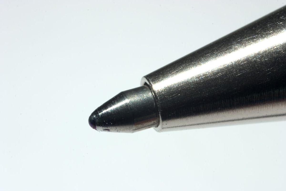 Pennen var Pindals arbejdsredskab. Foto: Scanpix