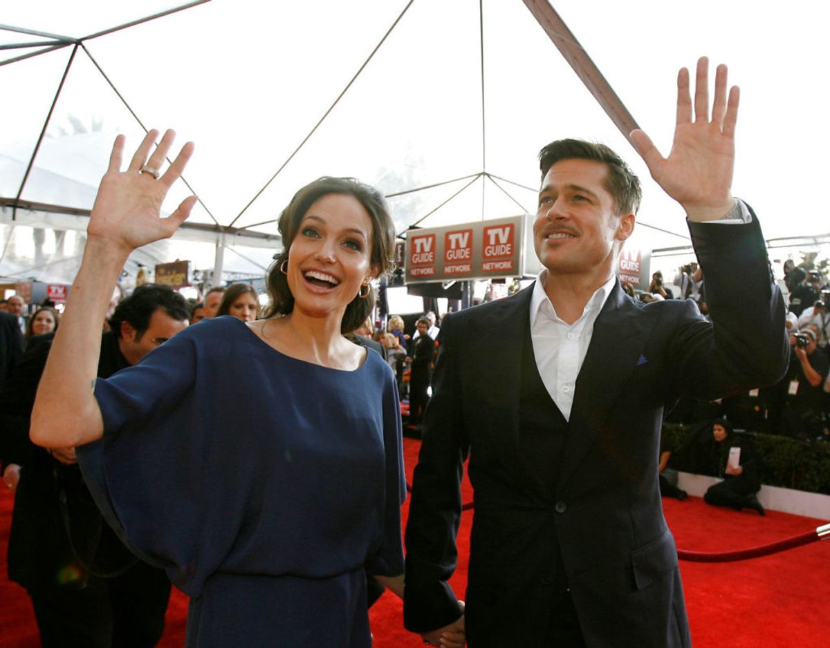 Brad Pitt og Angelina Jolie har dannet par i årevis. De blev gift i 2014. Klik videre i galleriet for flere billeder. Foto: Mario Anzuoni / Reuters/Scanpix
