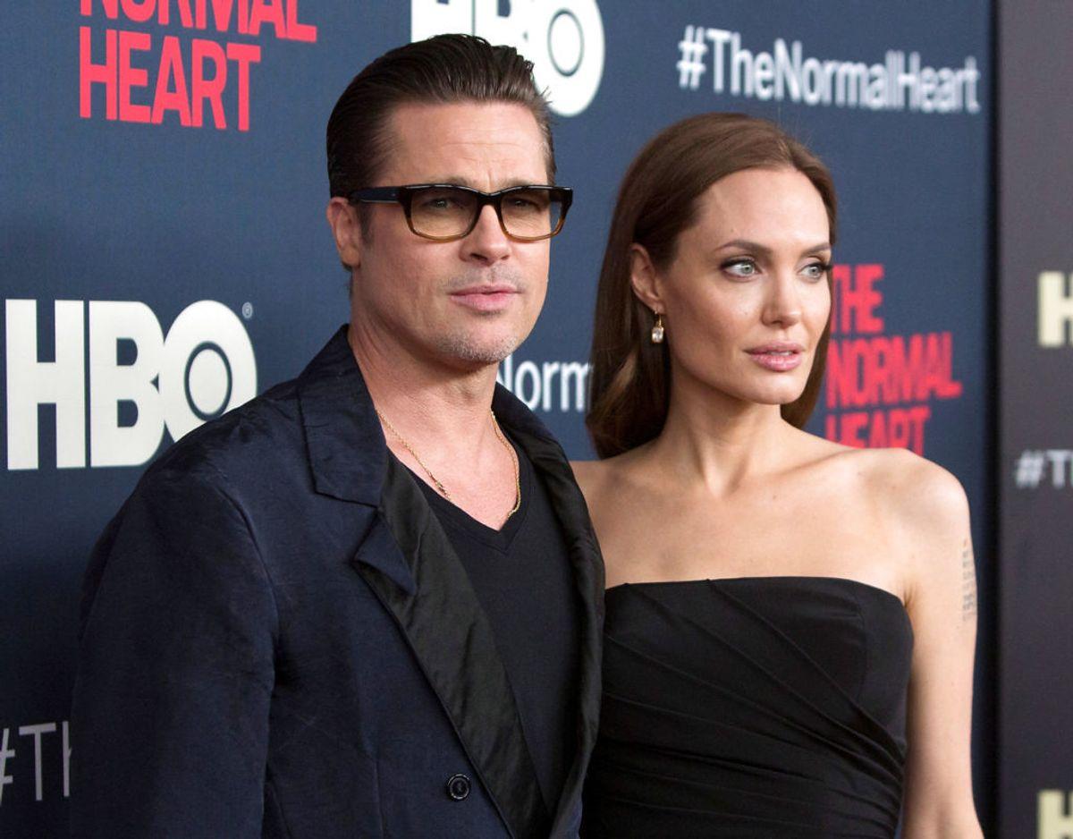 Brad Pitt og Angelina Jolie har seks børn. Heraf er de tre adopteret. Foto: Scanpix/REUTERS/Andrew Kelly
