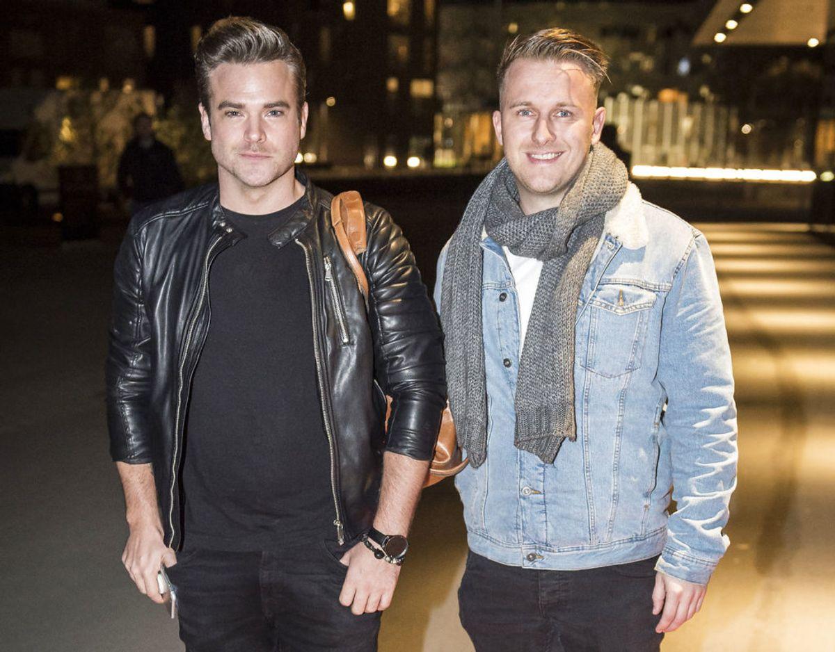 Privat danner Silas Holst par med Nicolai Schwartz. Foto: Scanpix