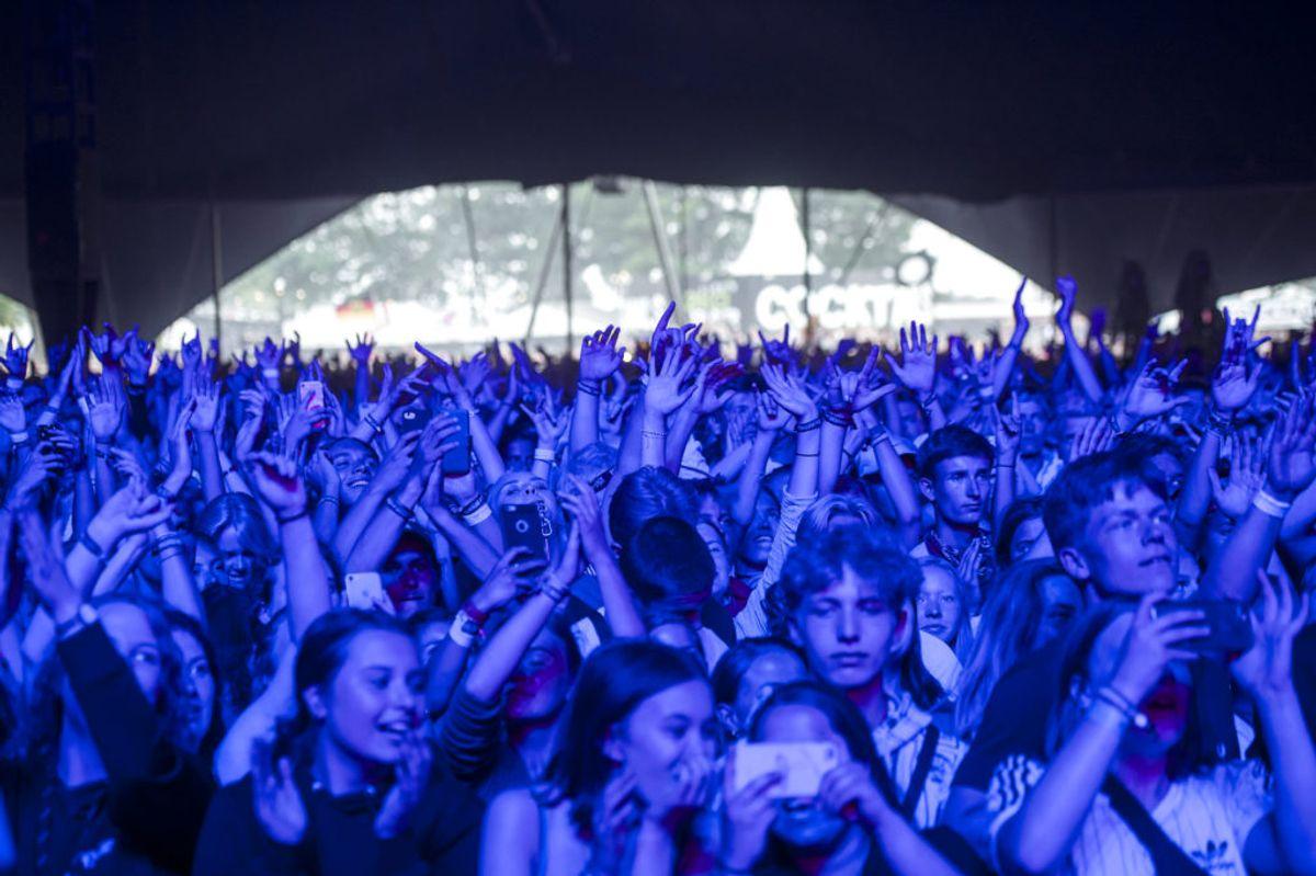 Slipknot har tidligere spillet på Roskilde Festival. Foto: Sofie Mathiessen/Scanpix.